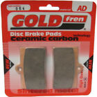 Front Disc Brake Pads for CCM CR 40 S CafeRacer 2008 398cc  By GOLDfren