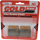 Rear Disc Brake Pads for Hyosung TE 450 Quad Rapier 2009 450cc By GOLDfren