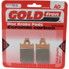 Front Disc Brake Pads for Malaguti F15 Firefox 50 L/C 1998 50cc  By GOLDfren