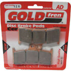 Front Disc Brake Pads for Buell S1 White Lightning 1998 1200cc  By GOLDfren