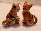 VINTAGE CAT SALT  PEPPER SHAKERS