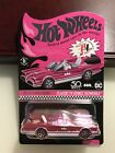 2018 Hot Wheels 32nd Convention RLC Pink Party Car 1966 TV Classic Batmobile