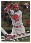 2017 Topps Chrome Baseball Complete Set Sapphire Edition Cards 11