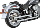 Vance  Hines Chrome Straightshots HS Exhaust Pipes System Harley Softail 07 17