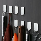 8PC new Self Adhesive Home Kitchen Wall Door Stainless Steel Holder Hook Hanger