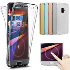 360 Protector Clear Flip Soft Phone Case Cover For Samsung Galaxy J4 J6 2018 A8