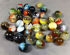 Marbles: Lot of 38 19/32 to 25/32 Mint Master Marbles