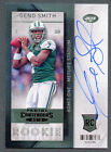 Geno Smith #211 signed autograph auto 2013 Panini Contenders Rookie Card