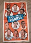 1969 Topps Team Poster San Diego Padres # 12 VG-EX