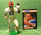 1989  CORNELIUS BENNETT - Starting Lineup Football Figure & Card - BUFFALO BILLS