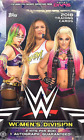 (1) FACTORY SEALED 2018 TOPPS WWE WRESTLING WOMEN'S DIVISION HOBBY BOX-2 HITS!!!