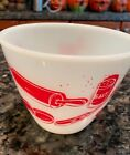 ANCHOR HOCKING FIRE KING SPLASH BOWL~ KITCHEN AID UTENSIL PATTERN