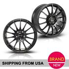2 X Wheels 17X75 Inch Rims 5X112 +35 Offset For VW Jetta Gti golf Matt Black