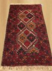 Authentic Hand Knotted Vintage Turkish Wool Area Rug 3 x 2 FT (4779)