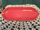 Fiesta Ware SCARLET Red  Retired   Relish Tray Corn on the Cob Tray