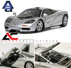 AUTOART 56001 143 MCLAREN F1 SILVER WITH OPENINGS SUPERCAR