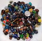 50 Mixed Fancy Glass Beads All Colors  Shapes  Sizes Large Pony Barrel Rice