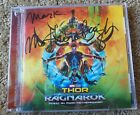 Thor: Ragnarok CD SOUNDTRACK HAND SIGNED MARK MOTHERSBAUGH AUTOGRAPH