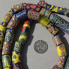 31 inch strand old antique venetian millefiori african trade beads 4733