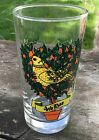 Replacement Glass Tumbler Twelve Days of Christmas 4th Day 12oz 4 Colly Birds