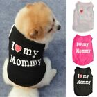 Small Dog Cat Vest Puppy T Shirt Coat Pet Dog Clothes Summer Apparel Costumes US