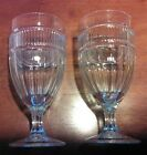 Two (2) Anchor Hocking Annapolis Clear Iced Tea Water Sundae Glasses 16 oz.