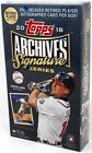 2018 TOPPS ARCHIVES SIGNATURE SERIES RETIRED ED BASEBALL BOX