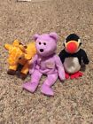 Ty Beanie Baby's - no tag- Lot of 3