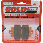 Rear Disc Brake Pads for Kymco Grand Dink 250 2002 250cc  By GOLDfren