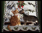 581 JPM Persis Clayton Weirs CAT KITTEN Christmas Greeting Card NEW