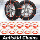 US 10Pcs Car Truck Anti-skid Chains For Rain Mud Wheel Tyre Tire Ties Cable