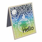 Background Cutting Dies Stencil Scrapbooking Paper Cards Craft Embossing DIY