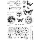 Prima Finnabair Art Daily Planner Cling Mounted Stamps Dream WIthout Fear