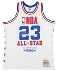MICHAEL JORDAN Signed Embroidered 1985 All Star Authentic Jersey UDA LE 22 123