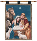 Christmas Nativity Tapestry Wall Hanging