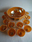 Jerry Punch Bowl 12 Cups Luster