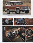 1966 1977 FORD BRONCO 3 page COLOR ARTICLE 4WD SUV RANGER
