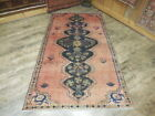 Ca1930s VGDY ANTIQUE LILIHAN MALLAYER SAROUK 3.6x6 ESTATE SALE RUG