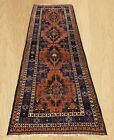 Hand Knotted Afghan Adras Khan Balouch Wool Area Runner 9 x 3 FT (5467)