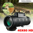 DayNight Vision HD Optical Monocular Hunting Camping Hiking Telescope Travel