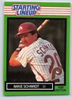 1989  MIKE SCHMIDT - Kenner Starting Lineup Card - PHILADELPHIA PHILLIES