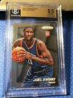 2014 15 Panini Prizm Joel Embiid #253 76ers Philly Rookie RC BGS 9.5 Gem Mint