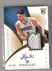 2012-13 Panini Immaculate Basketball Rookie Autograph Patch Gallery, Guide 80