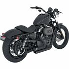 Vance  Hines Shortshots Staggered Exhaust for Harley Sportster 04 13