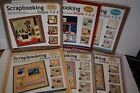 LOT OF 6 Paper Boutique Scrapbooking Kits as Simple as 1 2 3 4 New 2 Used