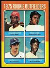 1975 TOPPS BASEBALL RED SOX FRED LYNN ROOKIE OUTFIELDERS mini CARD RC #622 EX+