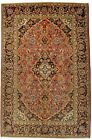 Enchanting Handmade Vintage Traditional Rare Persian Rug Oriental Carpet 4'5X6'9