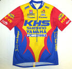 vtg Aussie KHS SHIMANO YAMAHA Cycling Jersey LARGE 90s Rock Shox Exceed Tools L
