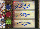 Andrew Luck, Robert Griffin III and Russell Wilson Signed
