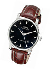 MIDO Men's Analogue Automatic Watch with Leather Strap – M86004188